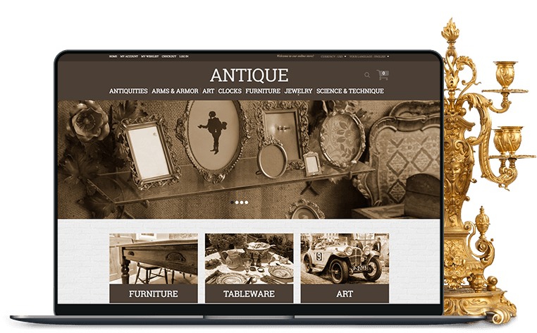 What's Needed to Build an Antique Online Store or Auction for Antique and Vintage Collectibles?
