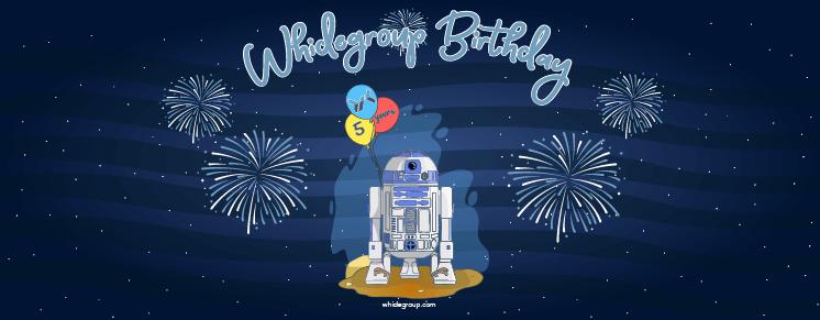 Whidegroup 5th Anniversary!