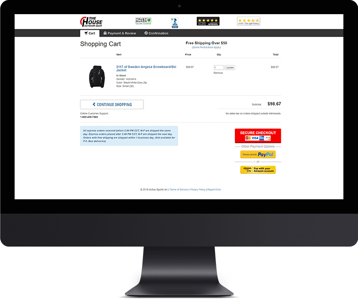 7 Best Practices to Improve E-commerce Conversion Rate <br> of Your Store