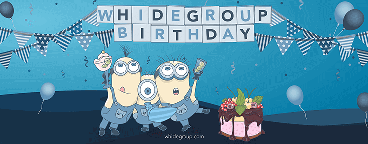 Whidegroup is 4!