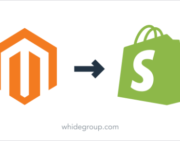 Magento to Shopify migration guide - Whidegroup